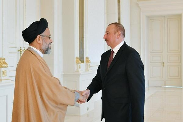 President Ilham Aliyev received Iranian intelligence minister