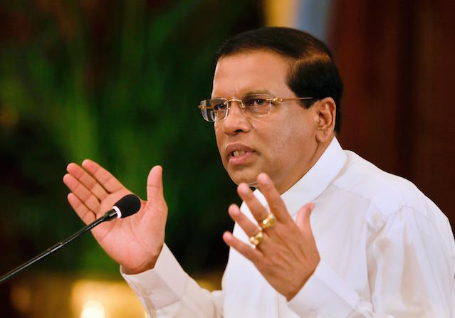 Sri Lankan president asks defense secretary to resign