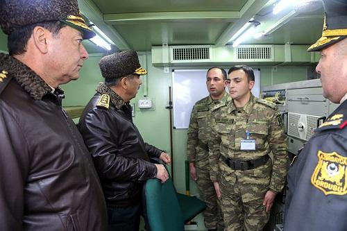 Opening of command and control point of Azerbaijani army