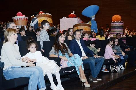 "Leyla Aliyeva attend ""Jirtdan in the world of fairytales"" -"