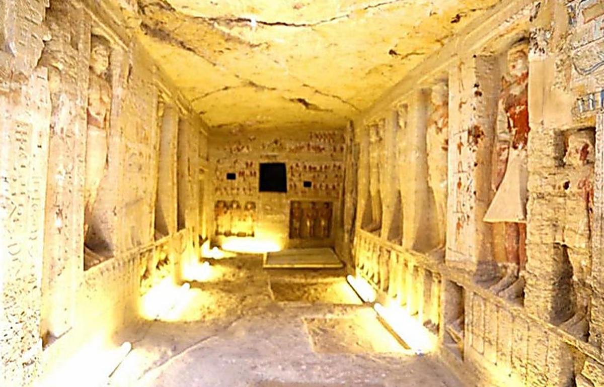 В Египте нашли гробницу возрастом 4,4 тысячи лет