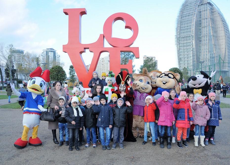 Фонд Гейдара Алиева организовал праздник для детей