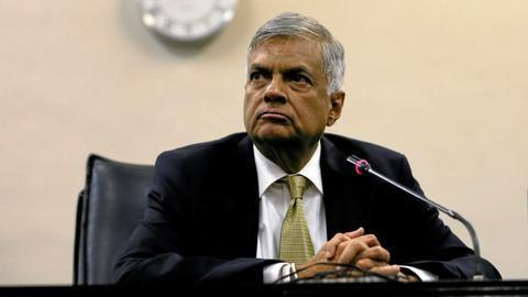 Sri Lanka's ousted PM sworn in again