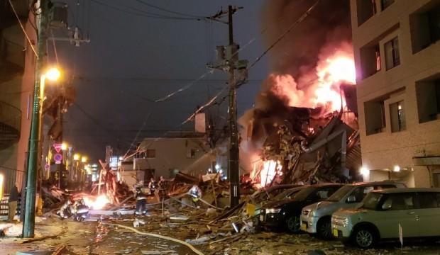 Yaponiyada partlayış: binalar dağıldı - 40 yaralı