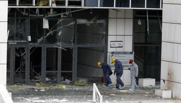 В Афинах у здания телеканала произошел взрыв