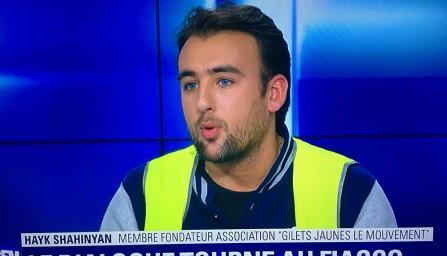 Армянин стал одним из лидеров «желтых жилетов» во Франции
