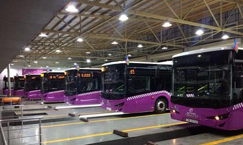 В Баку доставлены новые автобусы стандарта ЕВРО-6