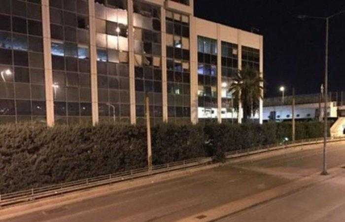 Yunanıstanda televiziya binası partladıldı