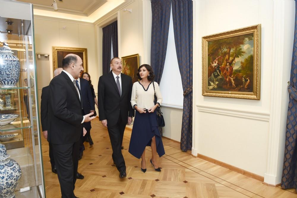 President Ilham Aliyev viewed conditions created at...