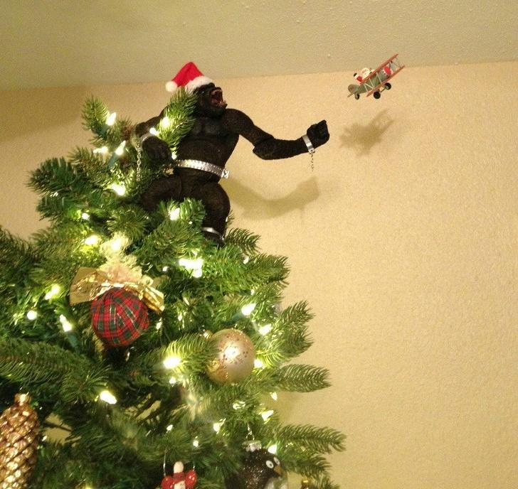 Hilarious Christmas trees -
