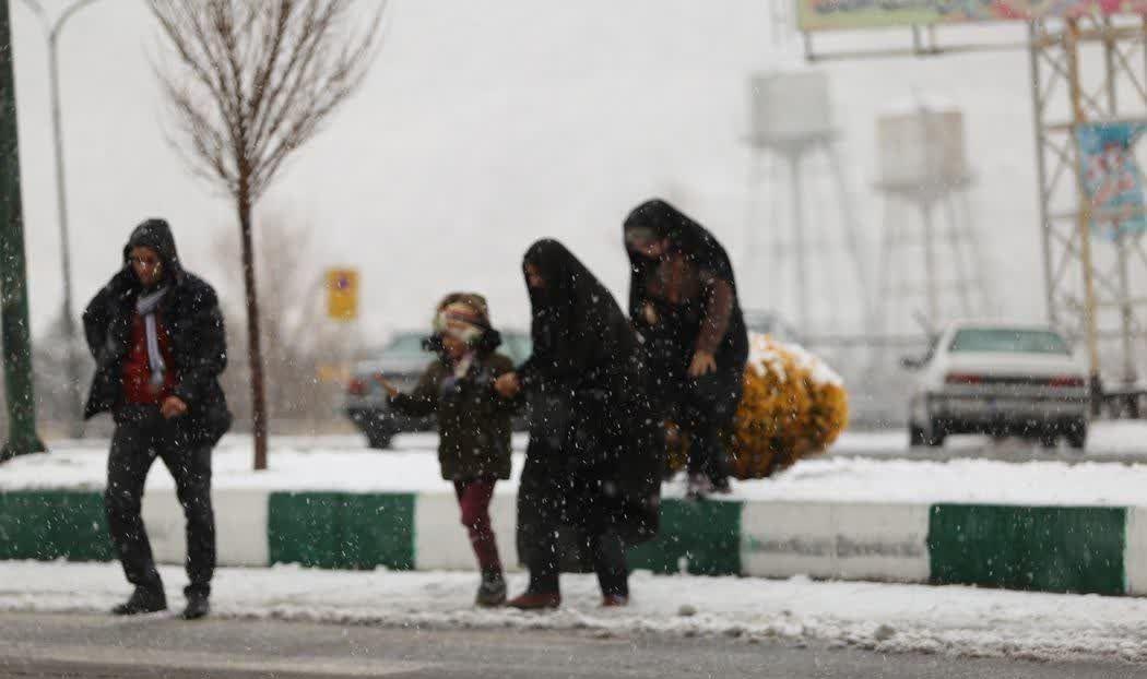 """موج دوم """"بارش برف"""" در آذربایجان از پنجشنبه"""