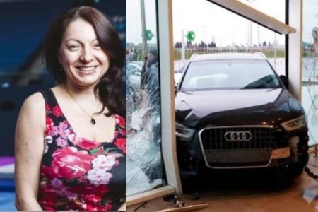 """""""Audi"""" ilə """"Bravo""""ya girən xanım sürücü kimdir? -"""