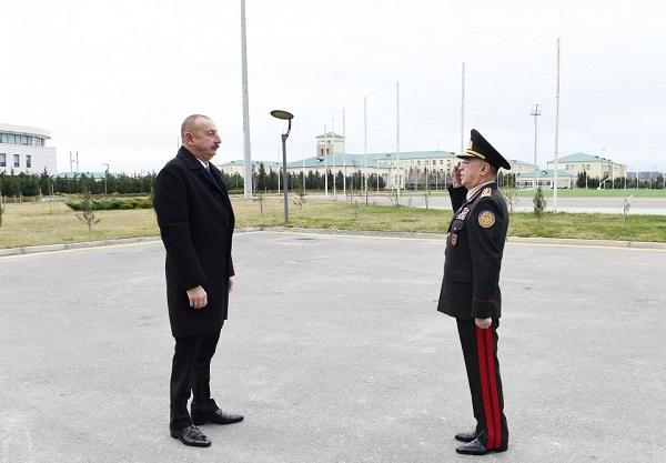 İlham Əliyev FHN-in yeni binasının açılışında - Foto