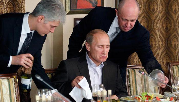 Putin və Qorbaçov nahar edir... - Nadir foto