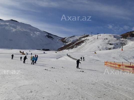 """В """"Шахдаге"""" стартовал лыжный сезон"""
