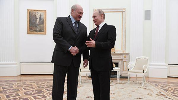 Putin, Lukashenko discuss bilateral cooperation