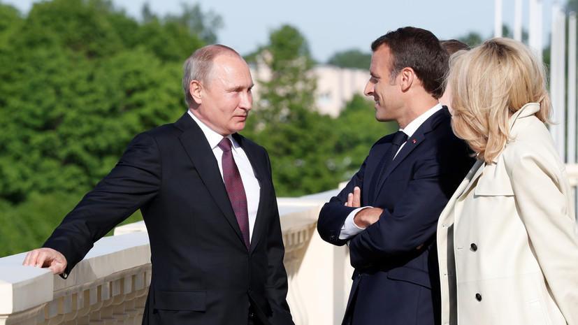Putin Makronla Qarabağı müzakirə etdi