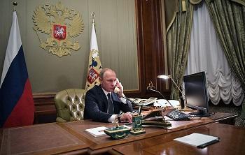 Putin, Turkmen president discuss trade, economic cooperation