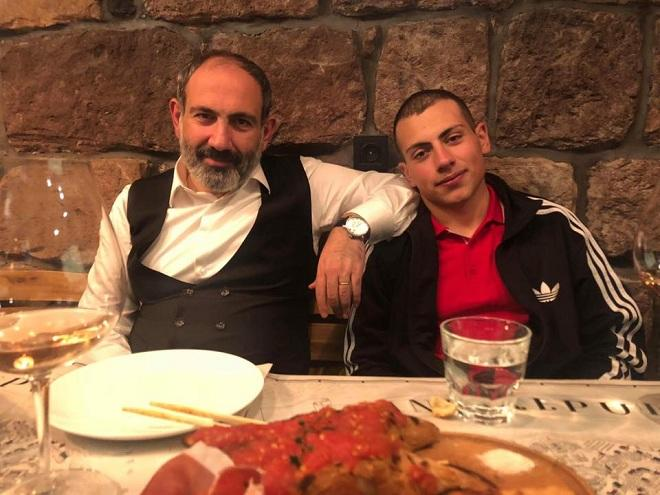 Paşinyanın oğlunun bu rəqsi gündəm oldu - Video