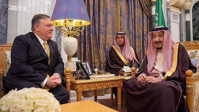 Pompeo to discuss efforts vs Iran with Saudi prince
