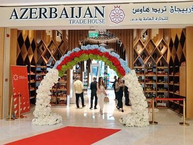 Dubayda Azərbaycan Ticarət Evi açıldı - Fotolar