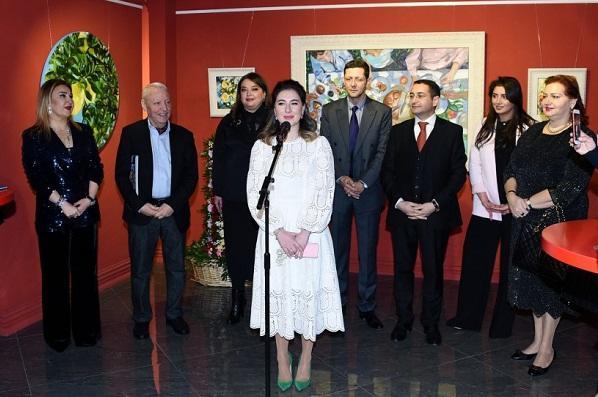 Fidan Əliyevanın yeni sərgisi açıldı – Foto