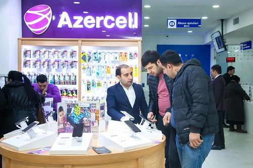 """""""Azercell""""in yeni konseptli xidmət mərkəzi"""