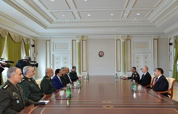 Ильхам Алиев принял Мохаммада Багери