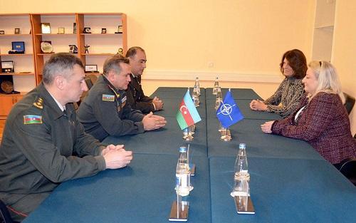 NATO-nun ekspert qrupu Bakıya gəldi