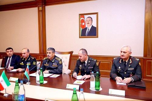 Закир Гасанов вновь встретился с иранским генералом