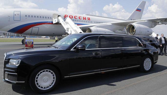 Путин прокатил президента Сербии на своем автомобиле