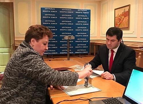 Ukraynada azərbaycanlı prezidentliyə namizəd oldu