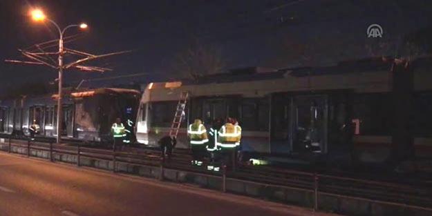Güclü külək İstanbulu da vurdu: Tramvay reysləri dayandırıldı