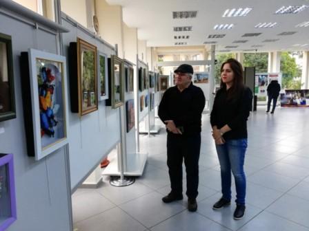 ایستانبولدا آذربایجانلی رسامین سرگیسی کئچیریلیب