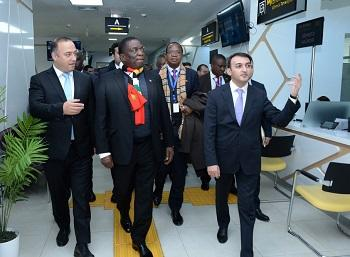 President of Zimbabwe visits ASAN service center No 5 -