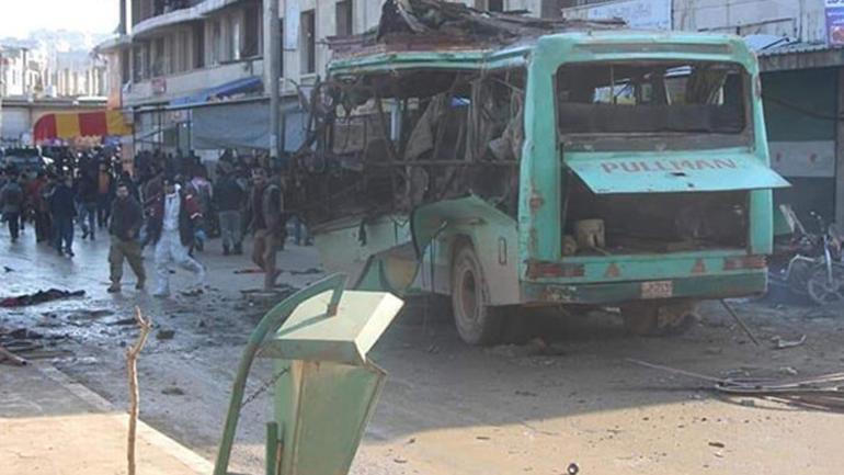 Afrində güclü partlayış: 4 ölü, 11 yaralı - Foto