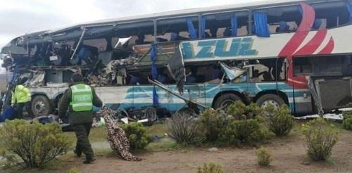 В Боливии более 20 человек погибли при ДТП