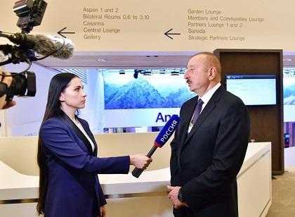 Rossiya-24-dən Bakutel-2019 reportajı - Video