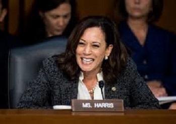 Trampa daha bir rəqib: Senator Harris namizəd olur