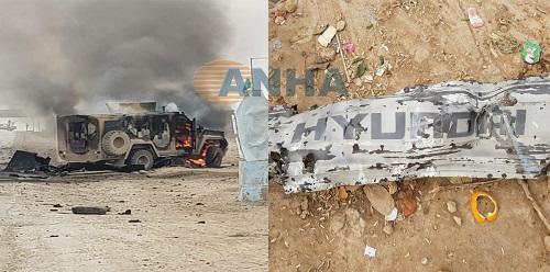 Suicide blast kills 5 US-backed Kurdish fighters