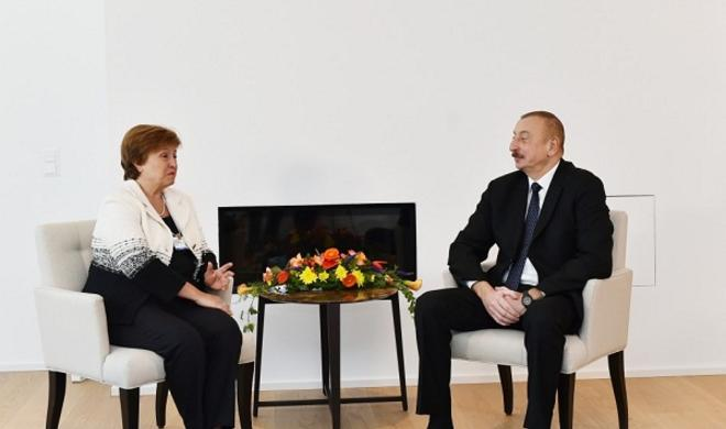 President met with Chief Executive Officer for World Bank