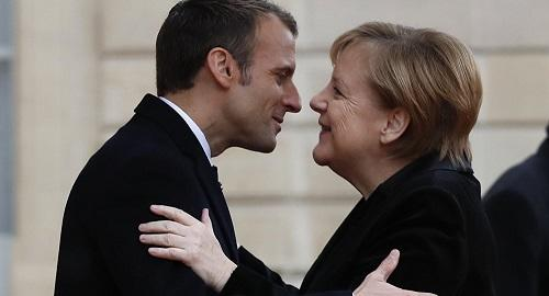 Macron, Merkel to sign new treaty on bilateral cooperation
