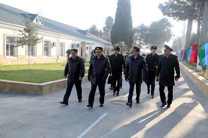 Zakir Həsənov hərbi obyektlərin açılışında... - Video
