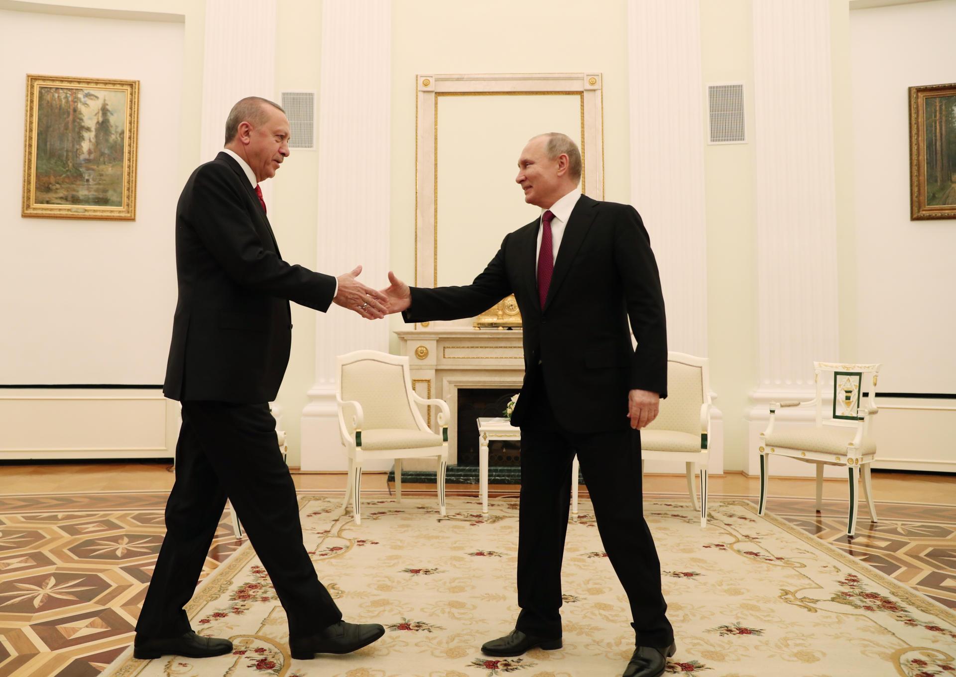 Завершились переговоры Путина и Эрдогана - Обновлено