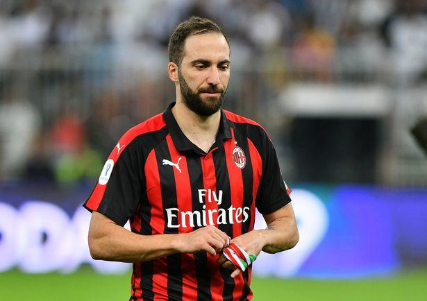 Gonzalo Higuain moves to Inter Miami