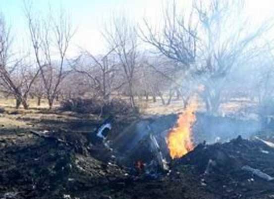 Pakistan qırıcısı qəzaya düşdü: pilot həlak oldu