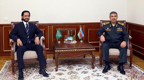 Закир Гасанов встретился с послом Саудовской Аравии