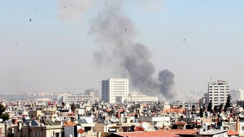 Blast occurs near Russian embassy in Damascus -