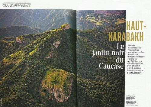 Fransa jurnalından Azərbaycana qarşı - Təxribat