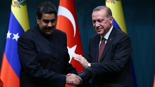 Turkish, Venezuelan leaders discuss ways to boost ties